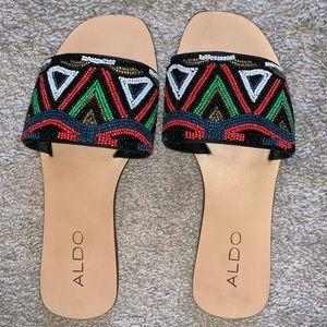 ALDO Beaded Sandals